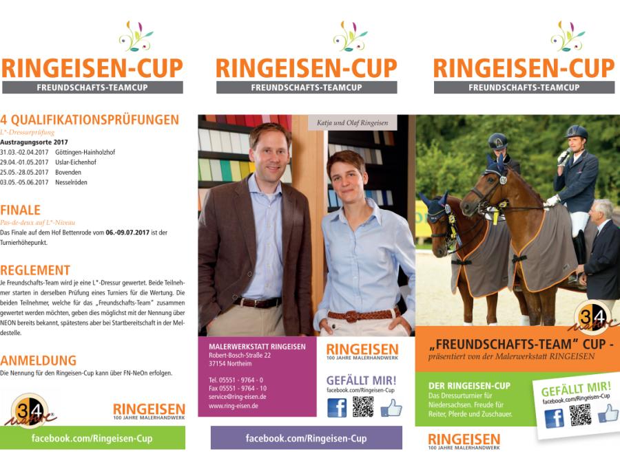 Ringeisen-Cup 2016, Flyer I